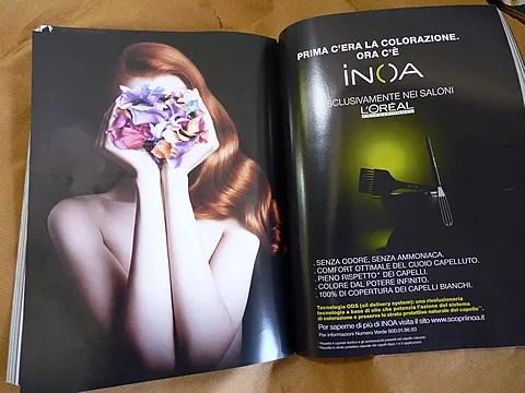 L'Oreal INOA ad campaign