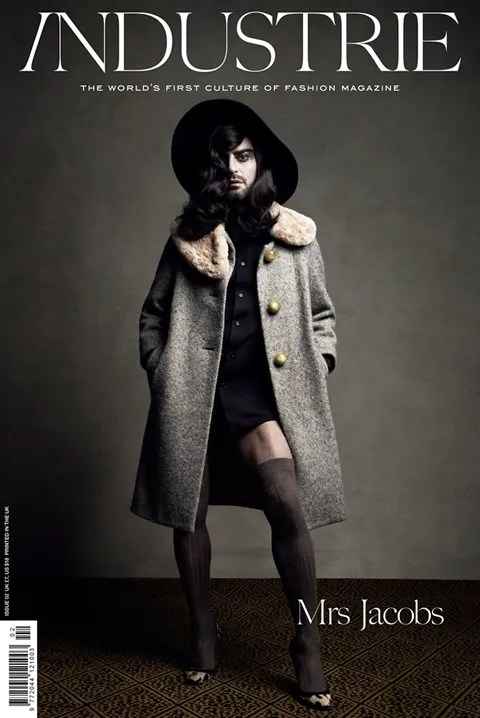 Marc Jacobs in drag for Industrie Magazine