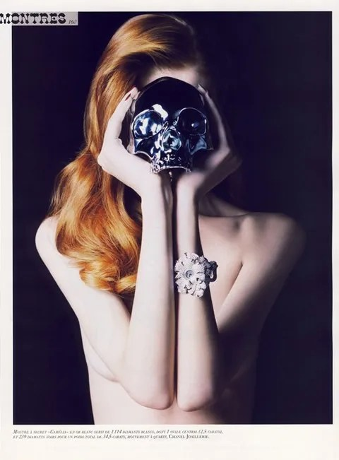 Olga Sherer, Vogue Montres/Vogue Paris November 2007