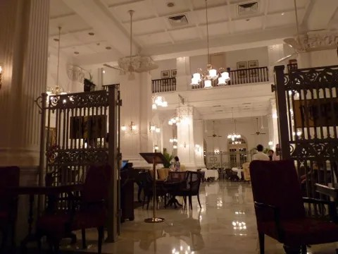 Singapore Sling at Raffles Hotel, Singapore