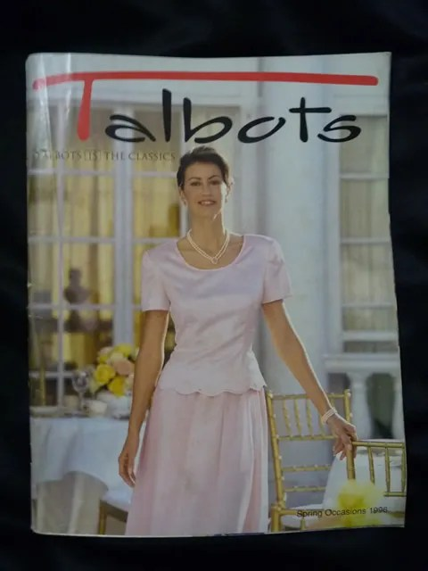 Talbots Catalog Spring Occasions 1996