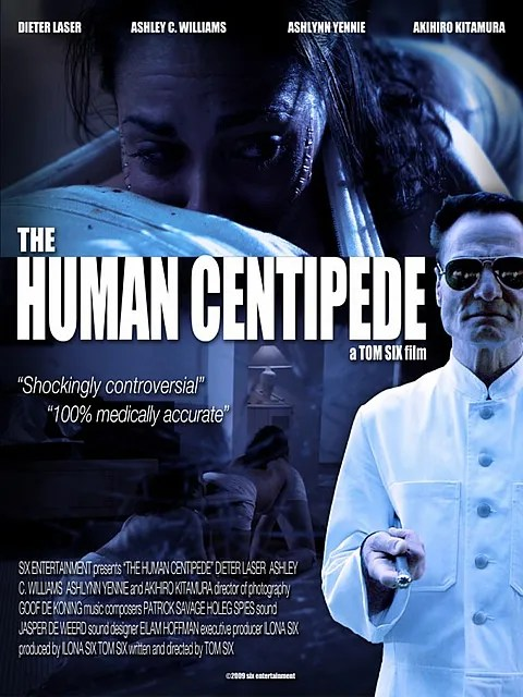 The Human Centipede Movie Poster/Trailer