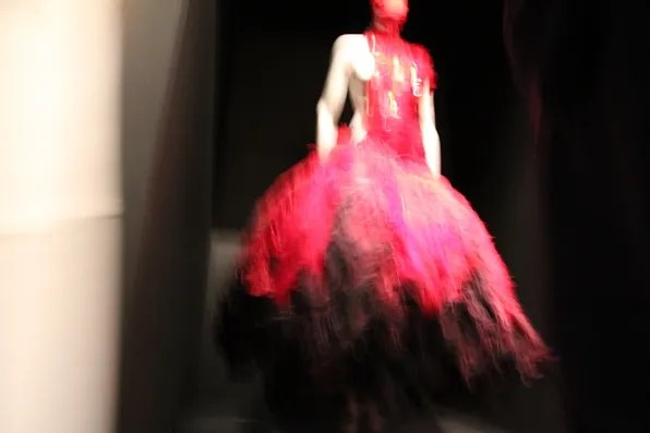 Alexander McQueen Savage Beauty at the Met - Dress Display