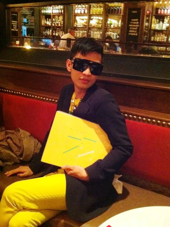 Bryanboy at Bar Stuzzichini, New York