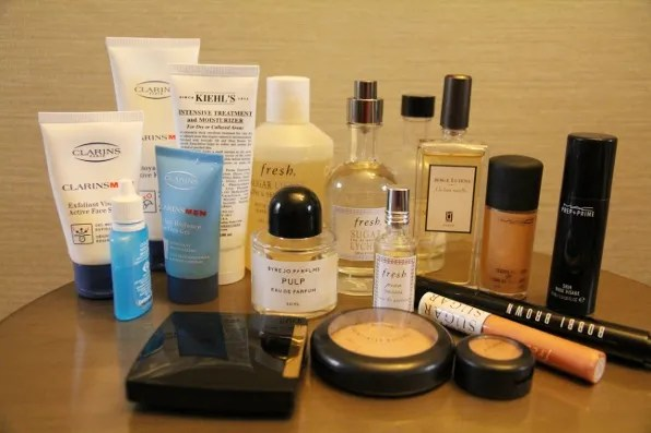 Bryanboy's low maintenance beauty products