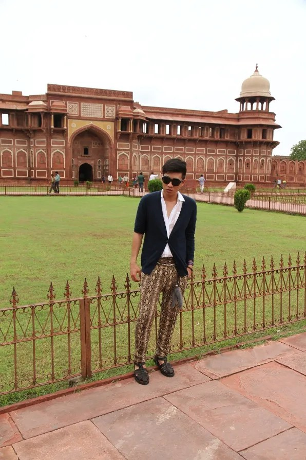 India Golden Triangle Tour - Agra Fort in Agra