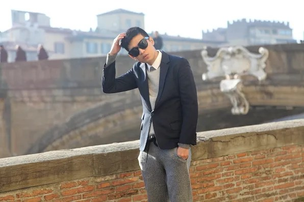 Bryanboy's Pitti Uomo look in Florence