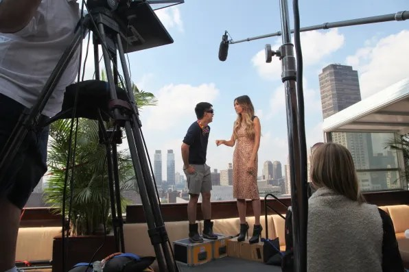 Giuiliana Rancic E! News with Bryanboy