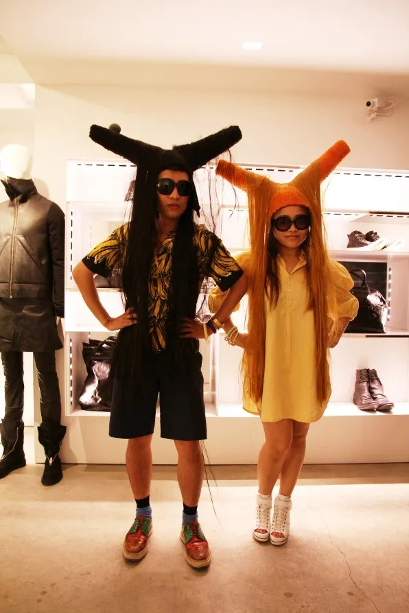 Bryanboy and Wendy Lam at Luisa via Roma
