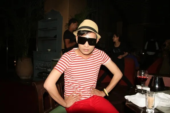 Bryanboy at Jad Mahal for Dinner