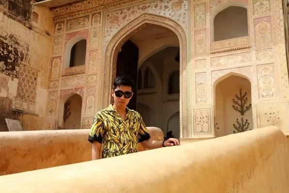 India Golden Triangle Tour - Amber Palace in Jaipur