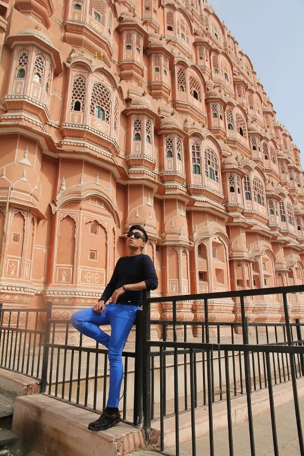 India Golden Triangle Tour - Hawa Mahal in Jaipur