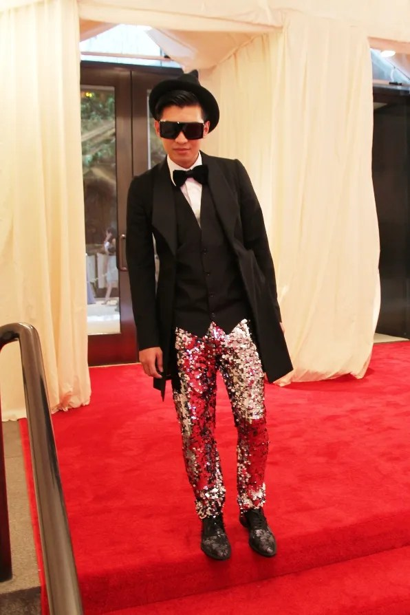 Bryanboy in Dolce & Gabbana at the 2011 Metropolitan Museum of Art's Costume Institute Benefit
