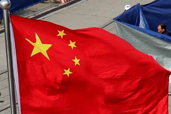Chinese Flag at Formula 1