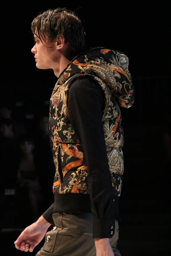 Dresscamp fall winter 2011 menswear baroque print vest