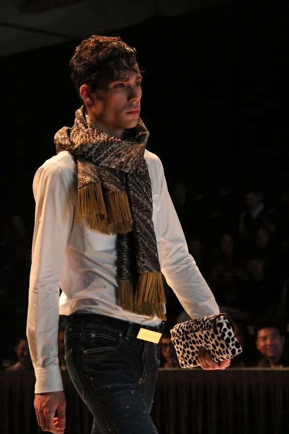 A look from Dresscamp fall winter 2011 menswear