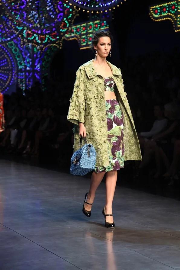 First Look - Dolce & Gabbana Spring Summer 2012 Milan