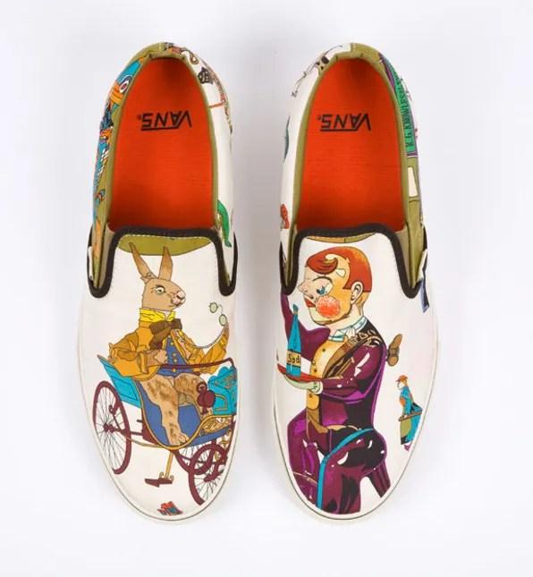 Hermes x Vans sneaker by Robert Verdi
