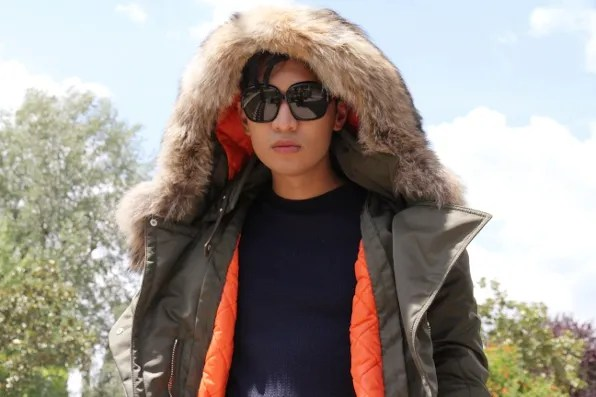 Joseph Altuzarra parka from fall/winter 2011 collection