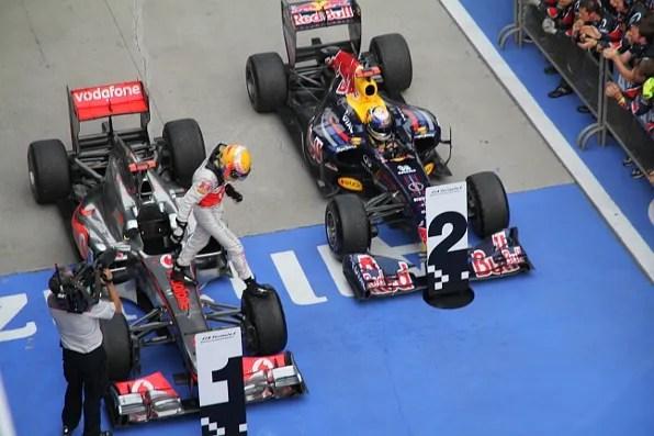 Lewis Hamilton Winner of Formula 1 Chinese Grand Prix Shanghai
