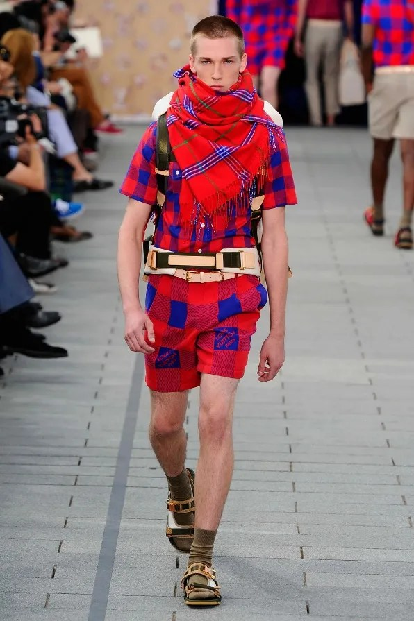 Louis Vuitton spring summer 2012 Masai inspired look