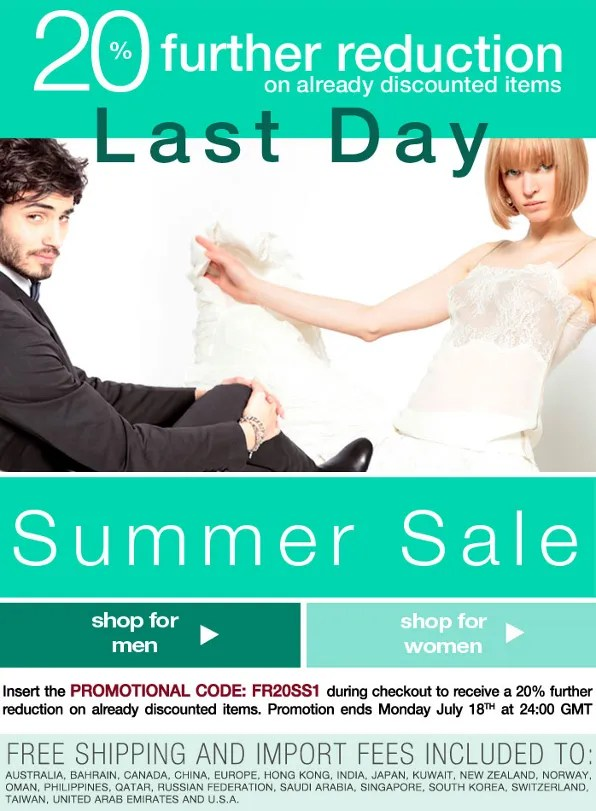 Luisa via Roma spring summer 2011 last call sale