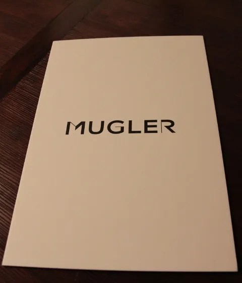 Thierry Mugler by Nicola Formichetti fashion show invitation