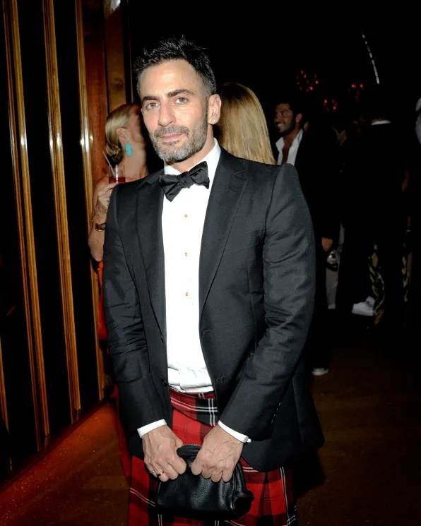 Marc Jacobs at the Top of the Standard Hotel 2011 Met Ball After Party