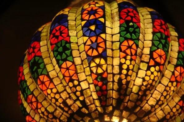 Lantern at Sevilla Restaurant at Claridges Hotel
