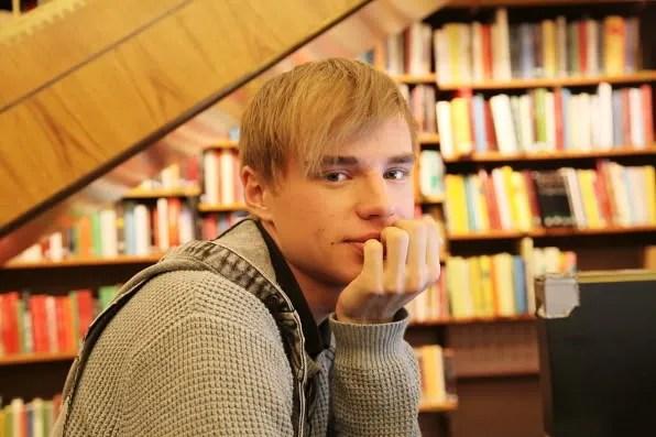 Gustav Marklund at Stockholms Stadsbibliotek