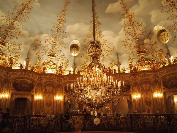 Ceiling of Turandot restaurant, Moscow
