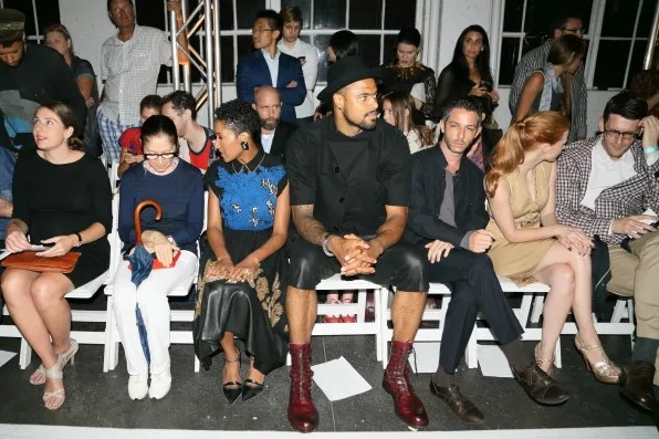 Tyson Chandler at Altuzarra spring/summer 2013 fashion show