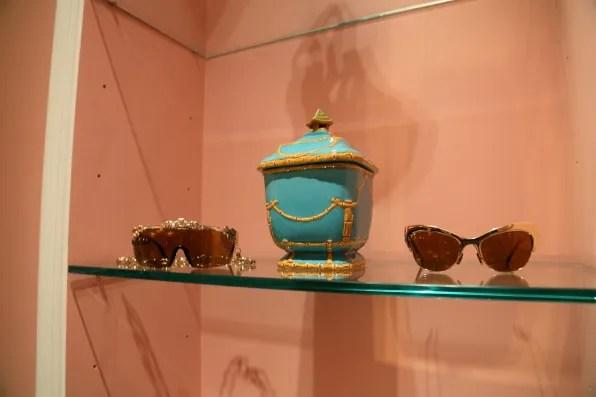 Anna dello Russo and H&M sunglasses