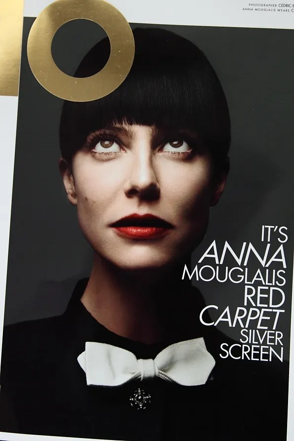Anna Mouglalis on the cover of Ten Magazine