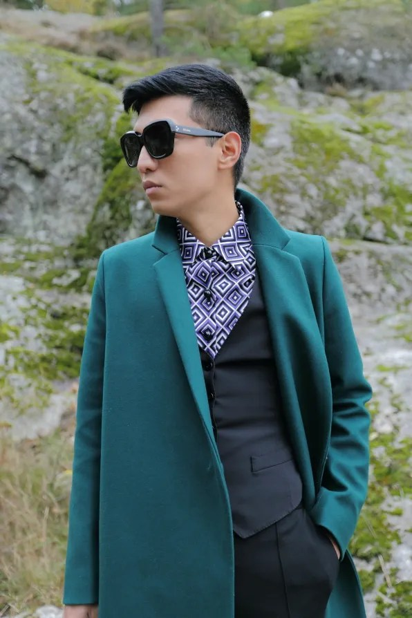 Green COS coat from fall winter 2012