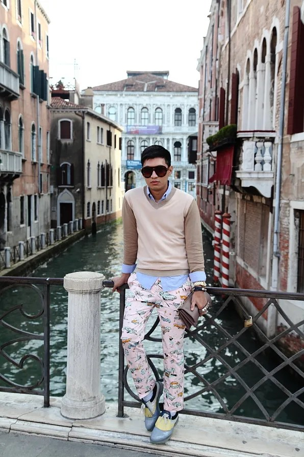 Bryanboy in Venice, Italy