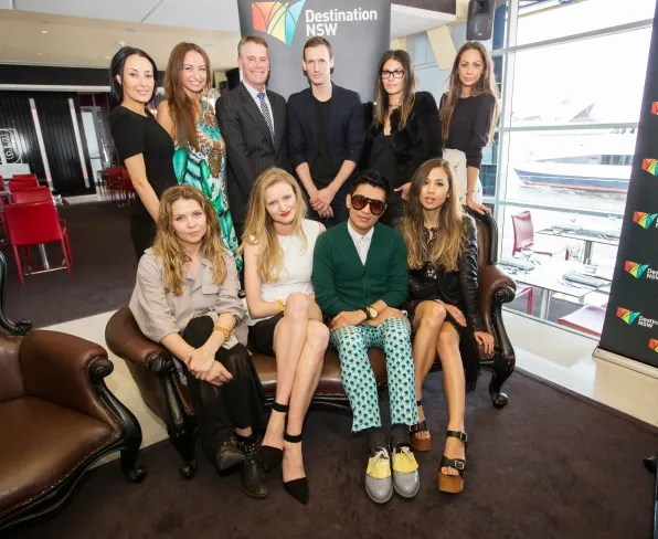 Sydney Fashion Ambassadors at Mercedes-Benz Fashion Week Australia 2012