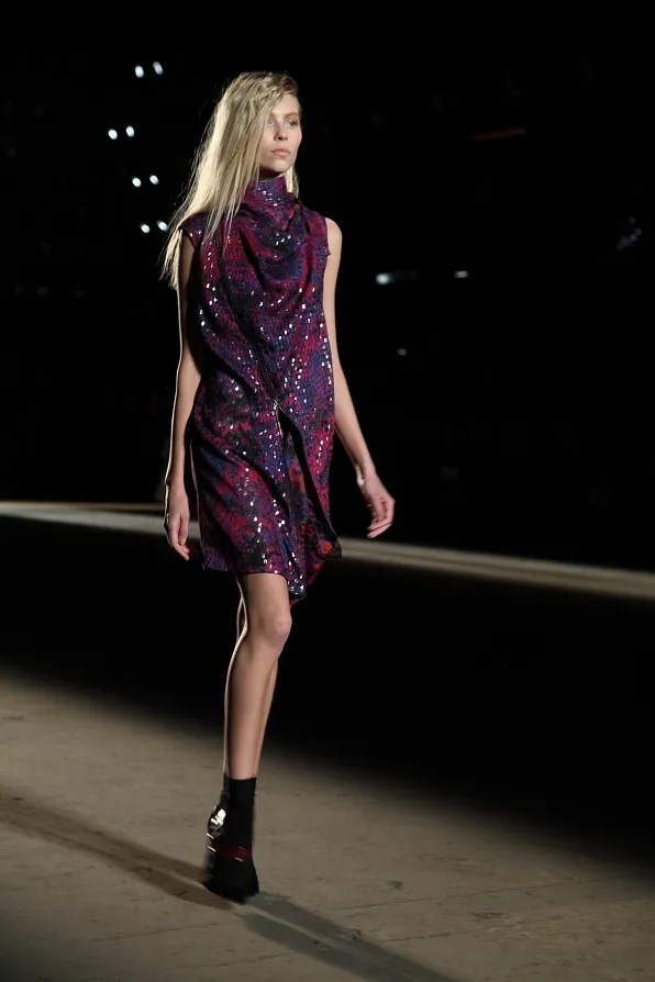Sequined dress from Edun fall winter 2012