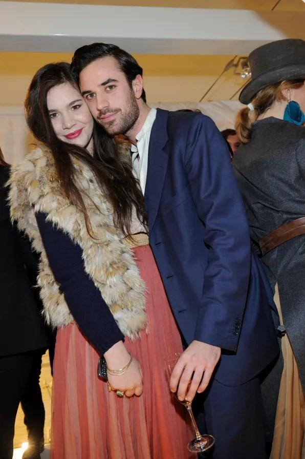 Teresa Missoni and Guido Taroni at Furla Cocktail Event Milano
