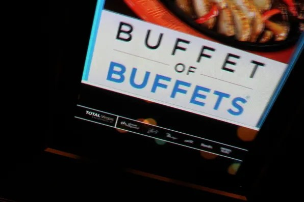 Buffet of Buffets poster, Las Vegas