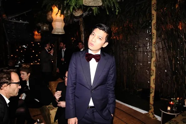 Bryanboy in Armani at Lifestyle Mirror launch