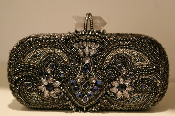 Marchesa crystal clutch