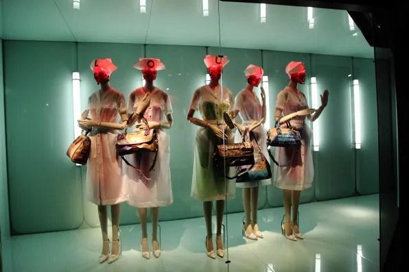 Richard Prince and Louis Vuitton collaboration at Louis Vuitton and Marc Jacobs retrospective