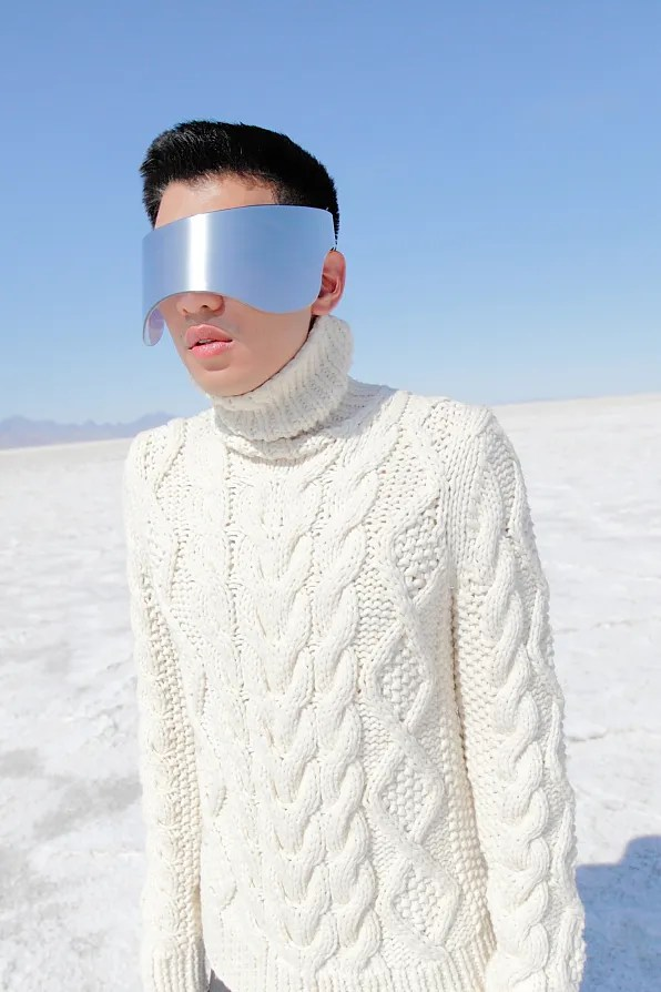 Bryanboy at Bonneville Salt Flats, Utah