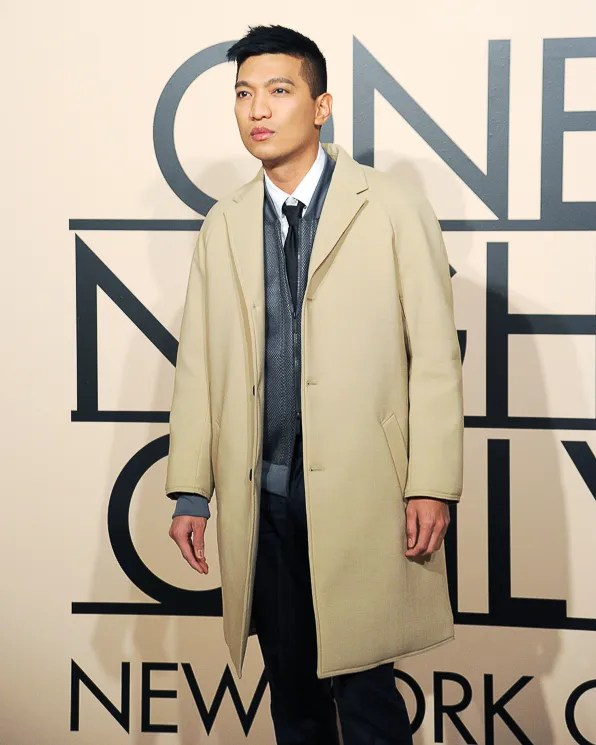 Bryanboy at Armani One Night Only New York City event