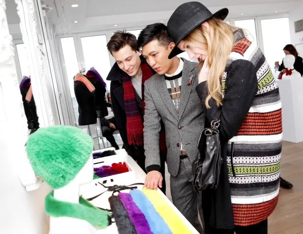 Bryanboy with Carolina Engman of Fashion Squad