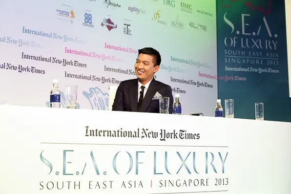 Bryanboy at INYT Luxury Conference 2013 in Singapore