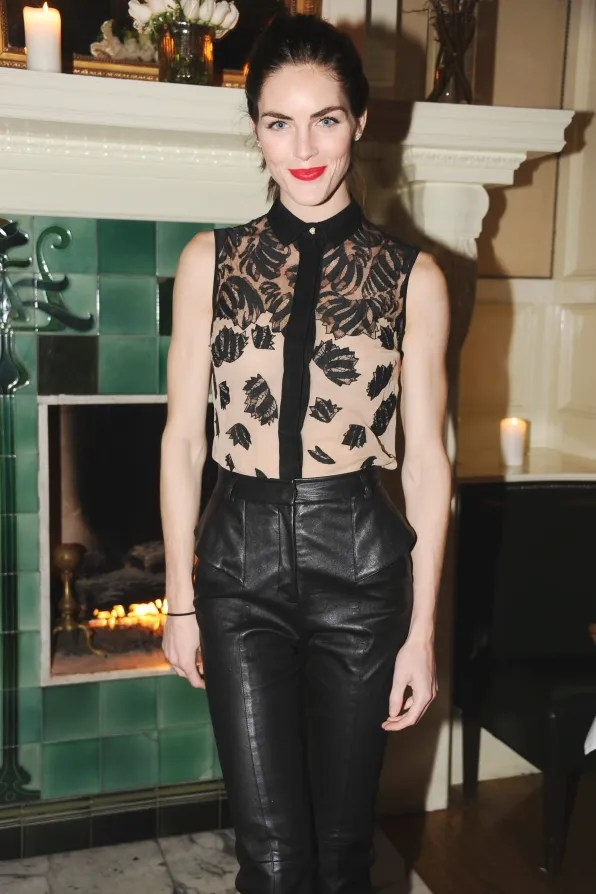 Hilary Rhoda at Beatrice Inn celebrating Jason Wu