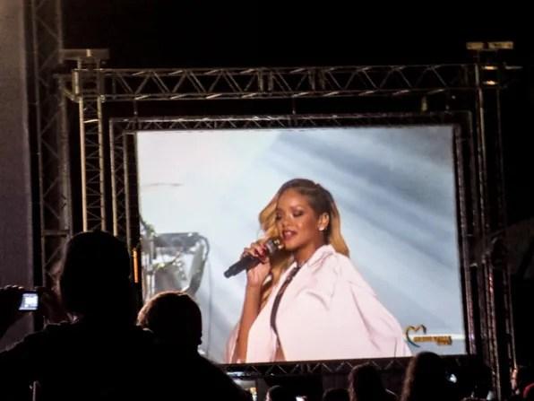 Rihanna concert 2013 Morocco