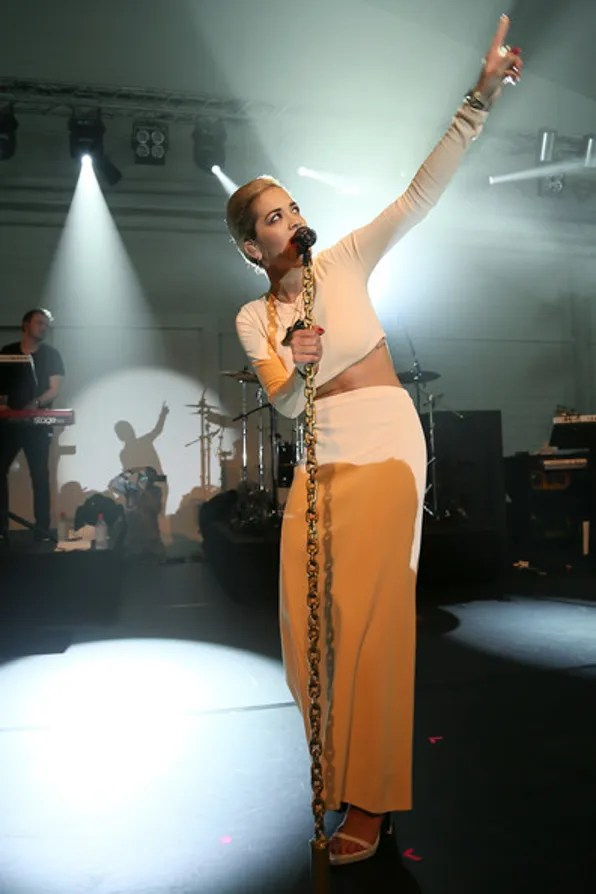 Rita Ora Performing at Calvin Klein party BaselWorld Basel Switzerland 2013